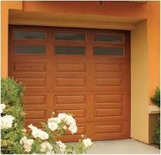 small garage doorModern House With Small Fiberglass Garage Door  Outdoor