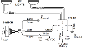 wiring additional back up lights within kc fog light diagram how to wire aftermarket fog lights at Fog Light Relay Wiring Diagram