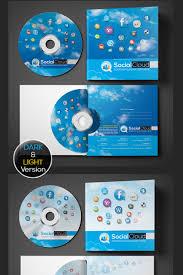 Social Media Cd And Dvd Case Cover Design Psd Template
