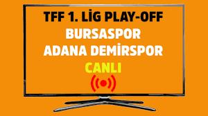 Bursaspor Adana Demirspor Bein Sports Max 1 kesintisiz şifresiz canlı maç  izle 22 Temmuz 2020 - Tv100 Spor