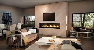 luxuria 74 modern gas fireplace