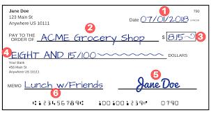 How To Write A How to Write a Check A StepbyStep Explanation 3