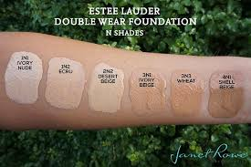 estee lauder double wear foundation review swatches lips and nails in 2019