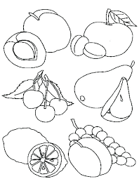 Healthy Food Coloring Pages Printable Coloring Pages Of Healthy