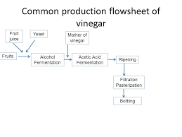 Industrial Production Of Vinegar Flow Chart Wine Production Ppt Download