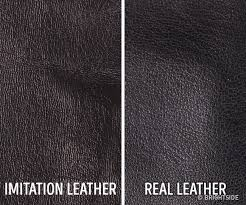 how does real leather look tap to see the answer
