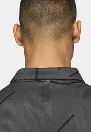 Nike Golf TIGER WOODS DRY COURSE - Sports shirt - dark smoke  grey/black/dark grey - Zalando.de