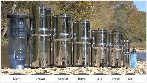 berkey water filter fluoride. Berkey Lineup Photo Water Filter Fluoride K