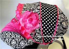 car seats zebra print baby car seat covers for girls cover canopy infant damask girly