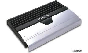 alpine mrv f450 5 channel car amplifier 50 watts rms x 4 200 alpine mrv f450 front