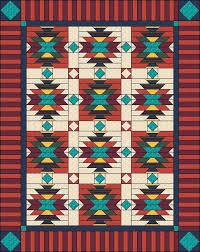 Southwest Quilt Patterns Best Southwest Quilt Pattern Native American American Indian Size