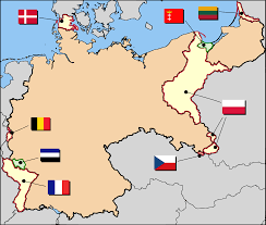 territorial evolution of  territorial changes after world war i edit