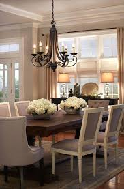 dining table chandelier long dining room table with candle chandelier