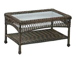 target patio furniture cover outdoor furniture side table x rectangular aluminum woven resin wicker glass top