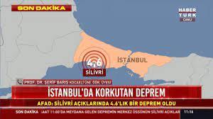 Son dakika: İstanbul'da korkutan deprem! İşte ayrıntılar...