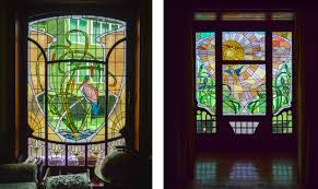 Authentic Art Nouveau Stained Glass Designs In Full Color Art Nouveau And Art Deco In Brussels Bricsys Cad Blog