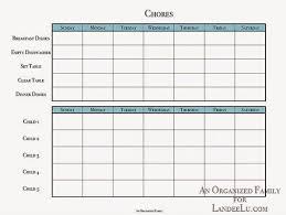 Creating Summer Routines Chore Charts Chore Chart Kids