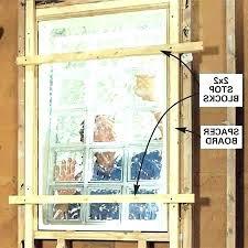 install glass block window glass block window replacement how to install glass block window in bathroom