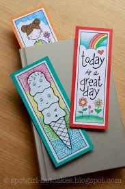 Design Handmade Bookmarks Pin By Spotgirl Design On Hotcakes Bookmarks Kids