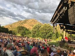 Red Butte Garden Amphitheatre Seating Chart Red Butte Garden Music Venues 2155 Red Butte Canyon