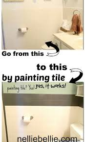 painting bathroom tips for beginners. did you know can paint tile? can. even use multi painting bathroom tips for beginners t