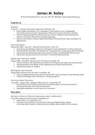 Audio Visual Engineer Resume - http://jobresumesample.com/1801/audio