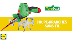 <b>Lidl</b> - <b>FLORABEST</b> - Coupe branches sans fil - YouTube