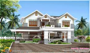 beautiful 4 bedroom modern house home kerala plans