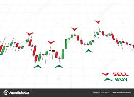 Stock Chart Indicators Forex Trading Indicators Vector Illustration Online Trading