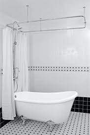 shower curtains for clawfoot tubs hotel collection slipper tub shower pack clawfoot tub shower curtain liner solution