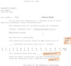 is the michigan bar exam getting easier to pass jd advising michigan bar exam score report