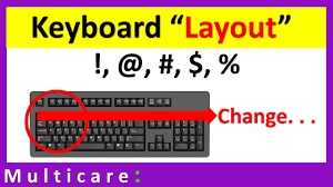 How To Change Keyboard Layout To Fix Problem Of Typing Special Character