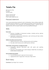 Personal Interests On Resume Examples Ms Excel Template