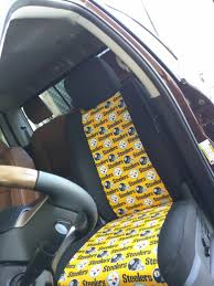 steelers car seat covers 10167 nfl seat covers for your vehicle exact year make and model