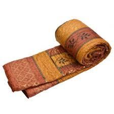 Famous Jaipuri Valvet Double Bed Quilt Razai Rajasthani Quilt ... & Double Bed Premium Jaipuri Razai GoldPrint Rajasthani Quilt Winter Rajai  Blanket Adamdwight.com