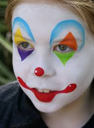 Easy Halloween Face Painting Designs Clown Face Painting Snazaroo Facepainting Clown Face