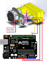 micro dc motor encoder sj02 sku fit0458 robot wiki this tutorial is intended to use the encoder select d2 pin and d3 pin wherein d2 as an interrupt port d3 as an input pin in practice two pins need to