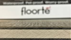 construction of rigid core vinyl flooring