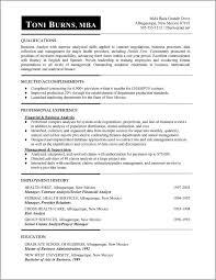 resume types formats