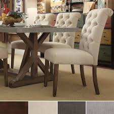 Leather Parsons Dining Room Chairs Furniture Modern Parsons Dining ...
