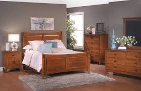 Solid Maple Wood Bedroom Furniture