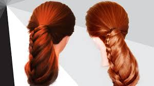 How To Make A Hair Style how to make different hairstyles at home for girls hair style at 8417 by wearticles.com