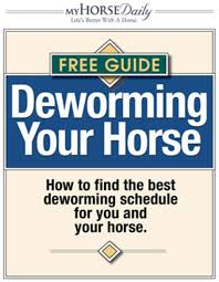 Horse Wormer Chart Deworming Your Horse Expert Advice On Horse Care And Horse