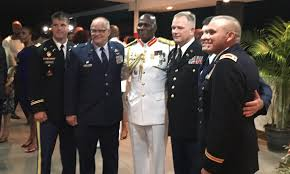 Accolades for outgoing Chief of Defense Staff Major General Rodney ...