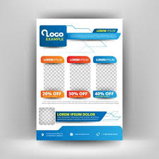 Special Offer Flyer Template Flyer Blue Elements Special Offer Download Free