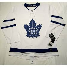 Toronto Maple Leafs Size 50 Medium Adidas Hockey Jersey Climalite Authentic