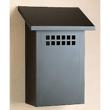 vertical wall mount mailbox. Arroyo Craftsman Glasgow Satin Black Mail Box - Vertical Wall Mount Mailbox