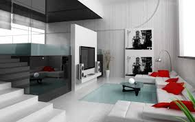 White Modern Living Room Furniture Apartments Small Minimalist Apartment Decor Interior With Brown