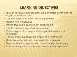 human resource management finding and keeping the best employees human resource management as a strategic contributor to organizational success iuml131146 the five steps in
