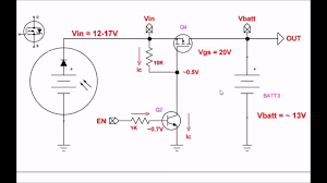Solar Panel Circuit Design Solar Panel Battery Charge Controller Switching Circuit